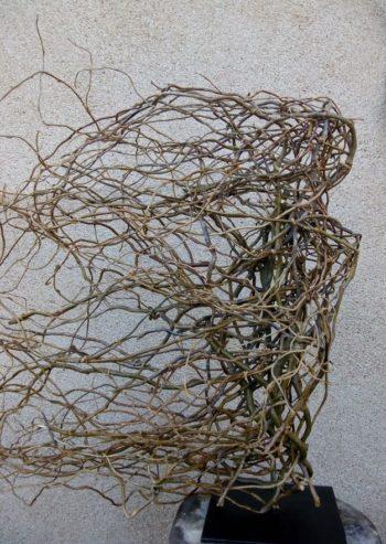 sculpture végétale pour un décor personnel. Symbole de la femme, dans votre salon ou autre accueil